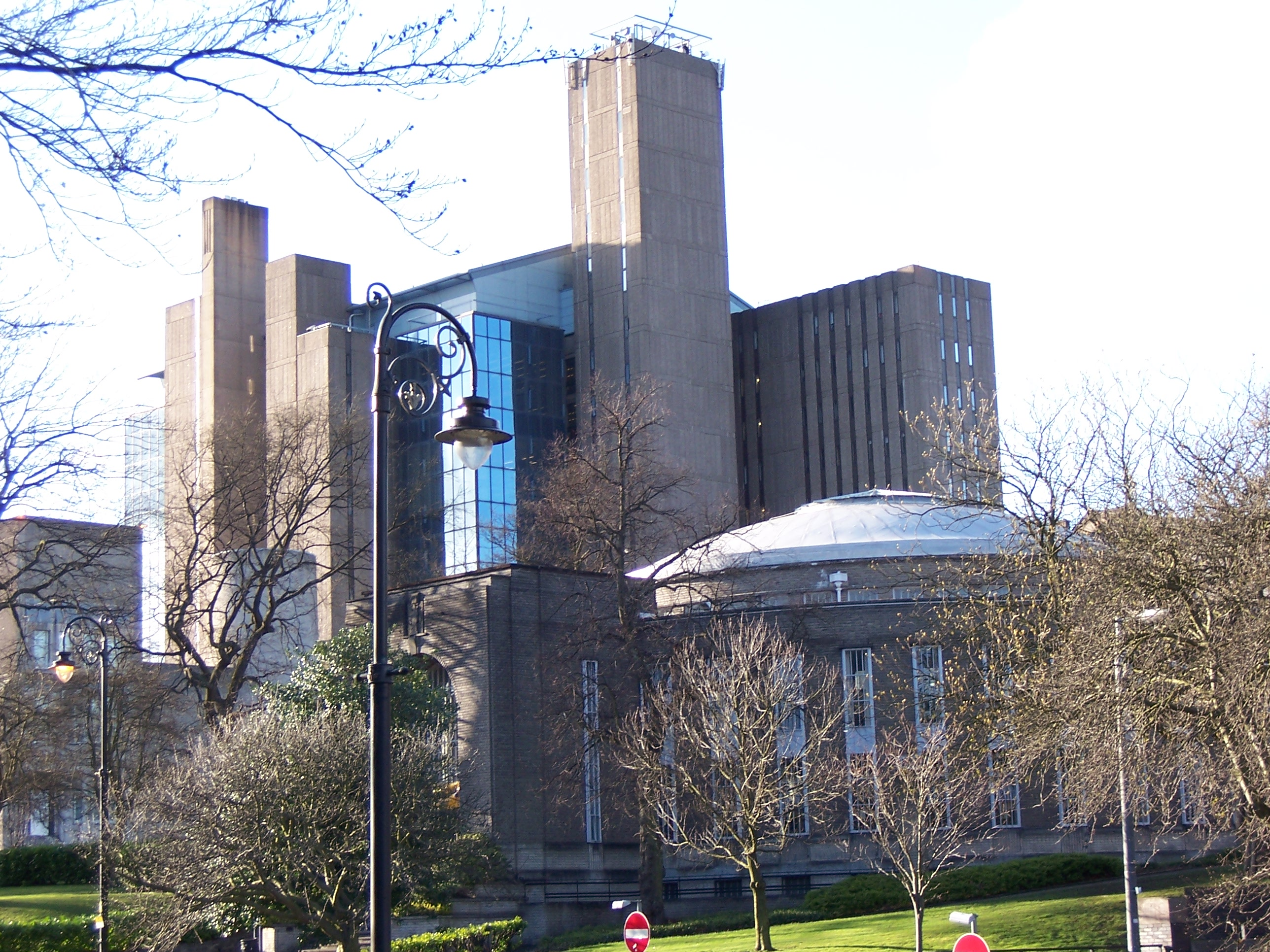 The library at University of Glasgow