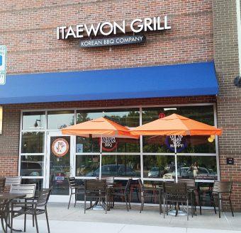 Itaewon Grill offers a unique Asian fusion menu.