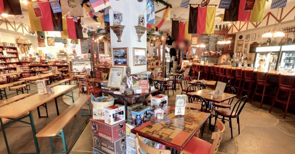 An image of Mr. Dunderbak's interior