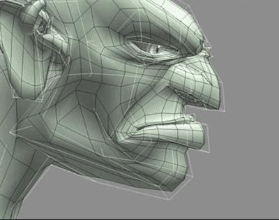 Digital composition of goblin
