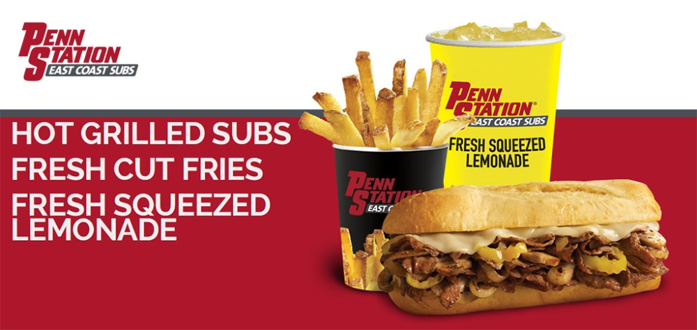 Penn Station East Coast Subs advertisement