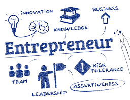 A picture illustrating the principles of entrepreneurship