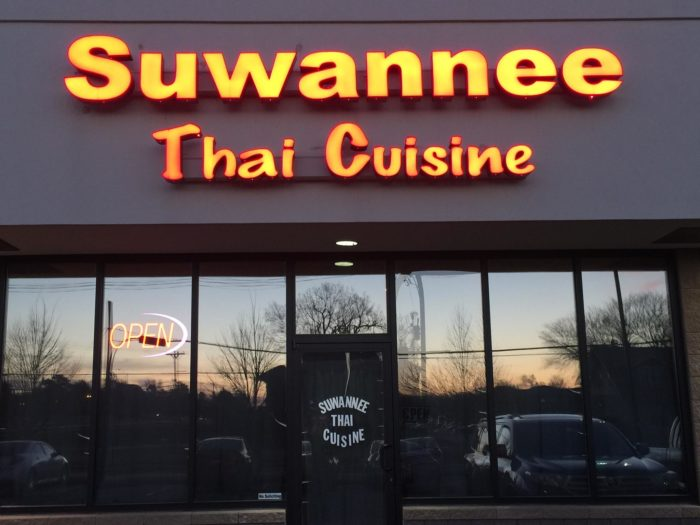 The building of Suwannee Thai Cuisine