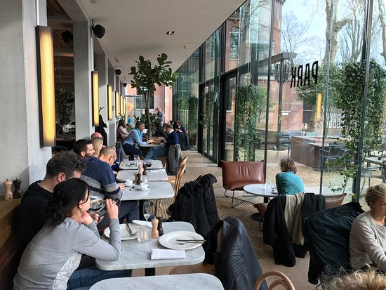 This is an Image of The Park Café Restaurant
