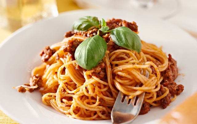 An image of spaghetti at Topperz