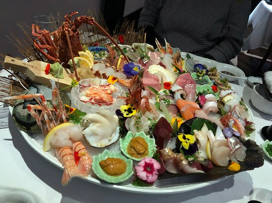 Various delicacies at Cocoro Japanese Bistro & Sushi