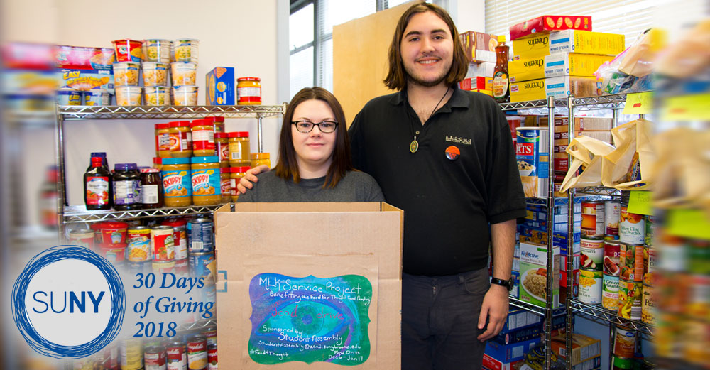 SUNY - Fredonia Food Pantry Services