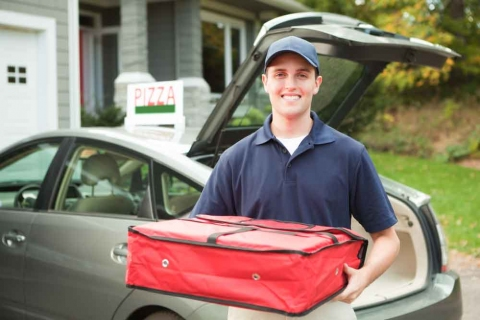 A Pizza Delivery Driver