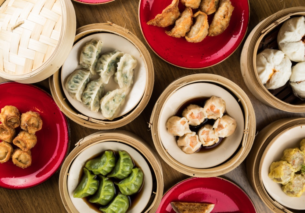 picture of different types of dumplings