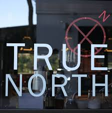 An image taken outside True North