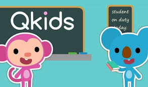 This picture shows some of the Qkids platform.