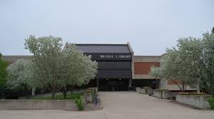This is Briggs Library, which is where the student assistant would work.