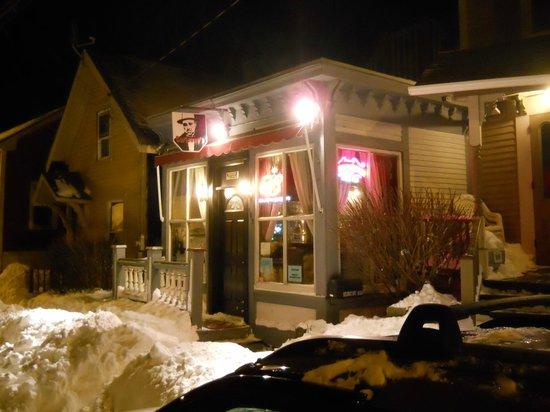 Night photograph of  Corleones Café
