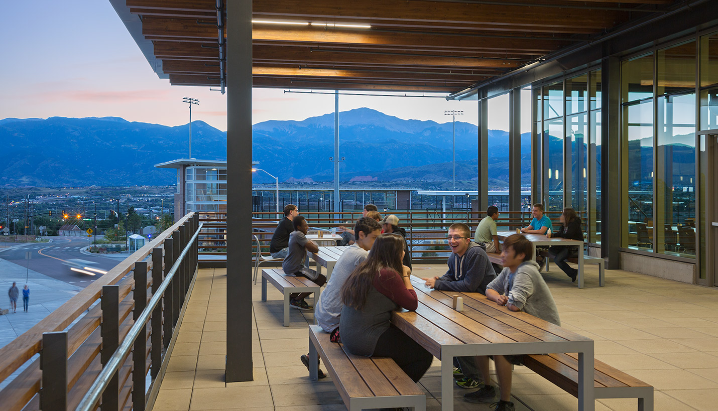 Restaurants and Cafes for Students at University of Colorado Colorado Springs
