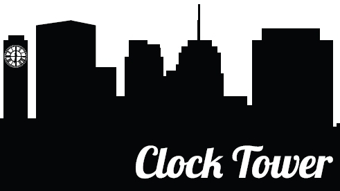 logo of clock tower lounge