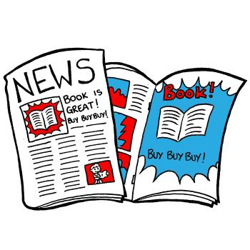 a comic version of a newspaper