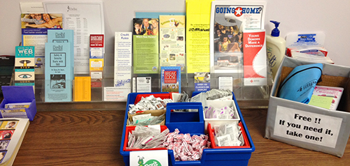 First-Aid and Emergency Medications at Self-Care Center