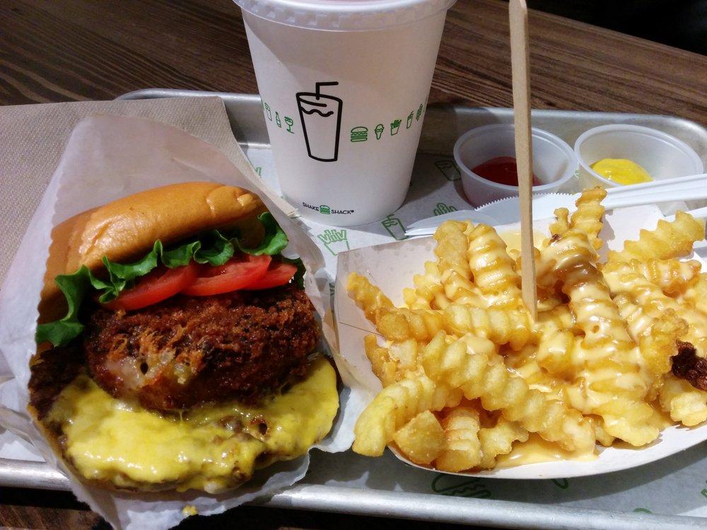 Shake Shack? burger and fries