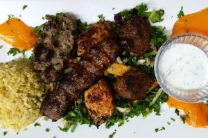 A popular dish from the Turkish cuisine