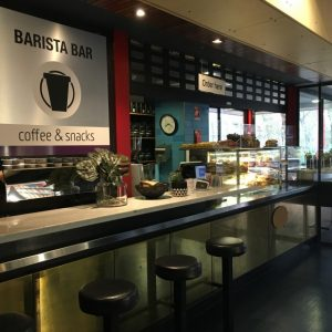 This is an image of the Barista Bar