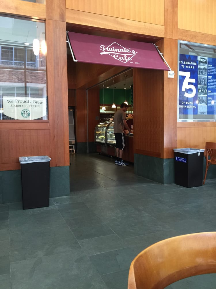 Twinnie's Irish charm and delicious pastries make it a great stop for hungry students.