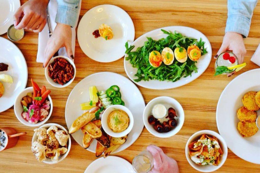 Various delicacies at Coleen's Kitchen