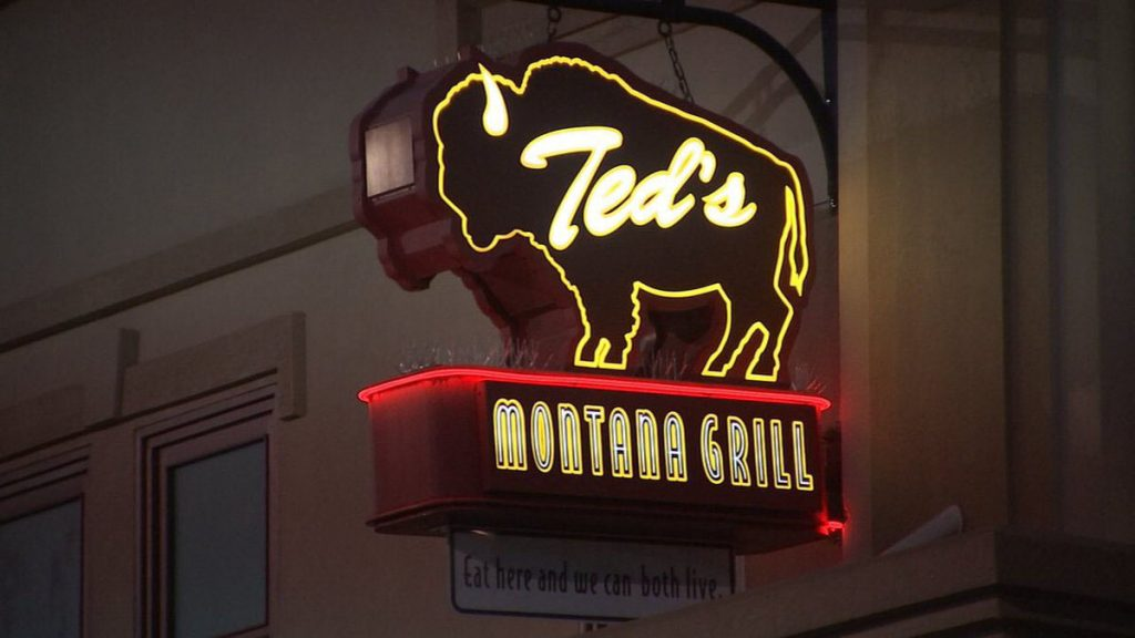 An image of Ted's Montana Grill neon sign