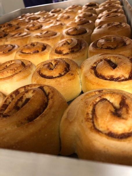 Some delicious cinnamon buns