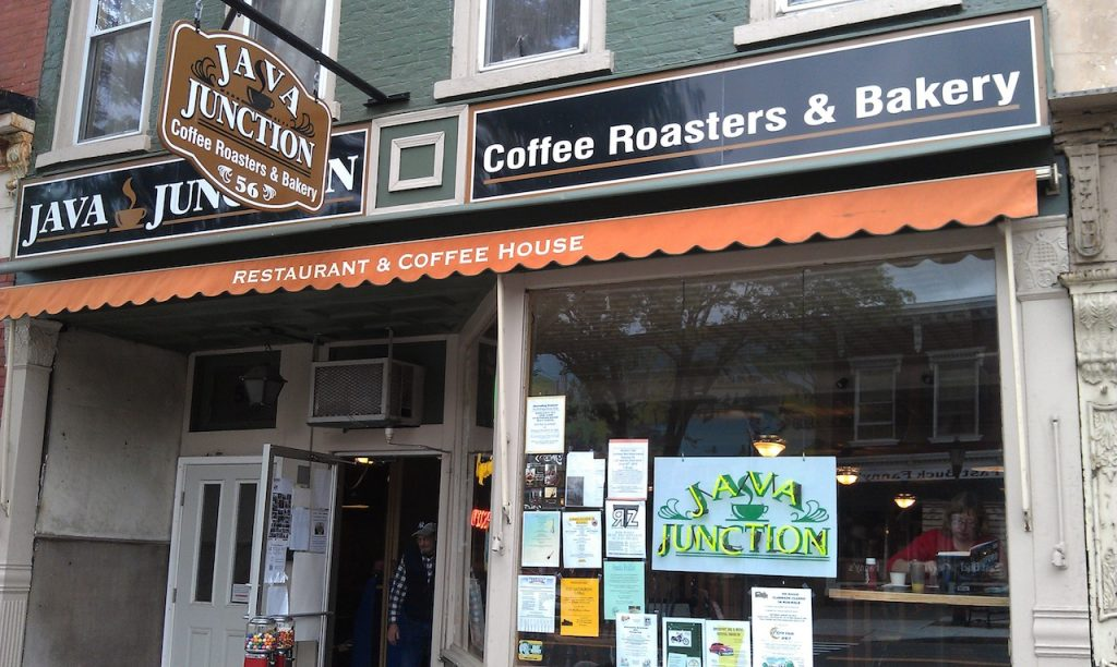 The front view of Java Junction Coffee Roasters