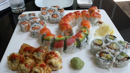 Delicacies at Osho Sushi and Bar