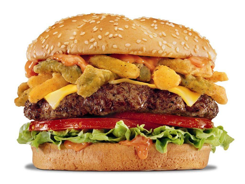 Image of burger at Robert's Delicatessen