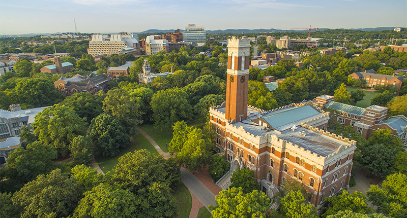 Restaurants and Cafes at Vanderbilt University