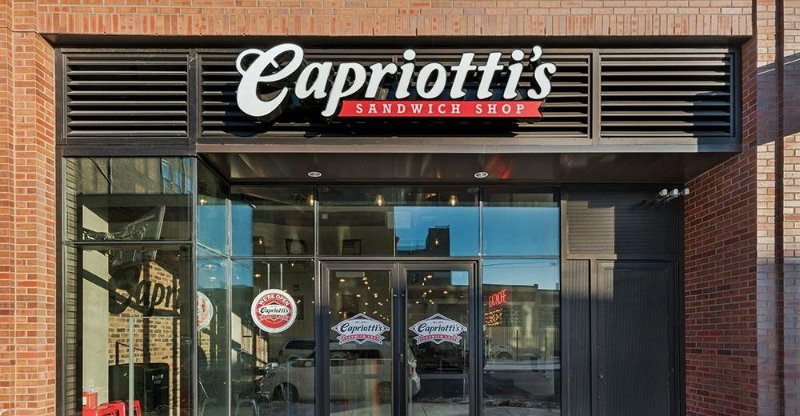 An image of Capriotti's Sandwich Shop exterior