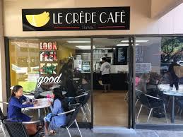 Le Crepe cafe facade