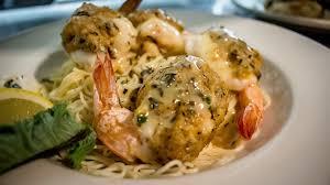 a seafood dish at Vincenzo's.