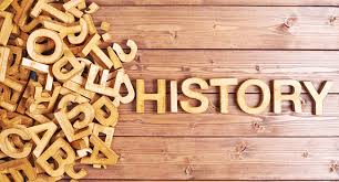 History is spelled with letters
