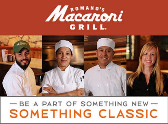 The Macaroni Grill's Logo