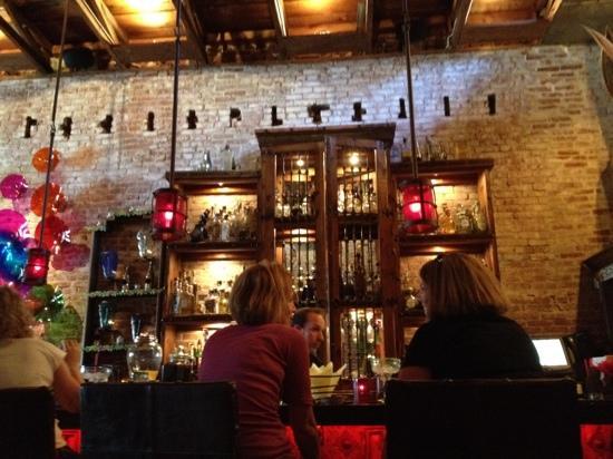 The bar at Gabbi's Mexican Kitchen