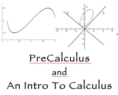 2 graphs showing equations in calculus