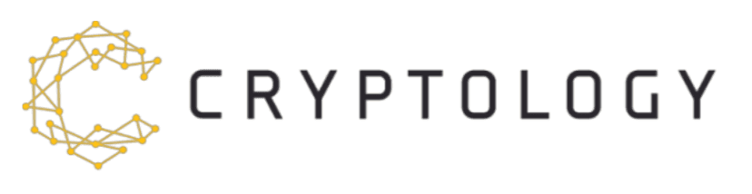 Cryptology wrtten in a cool font