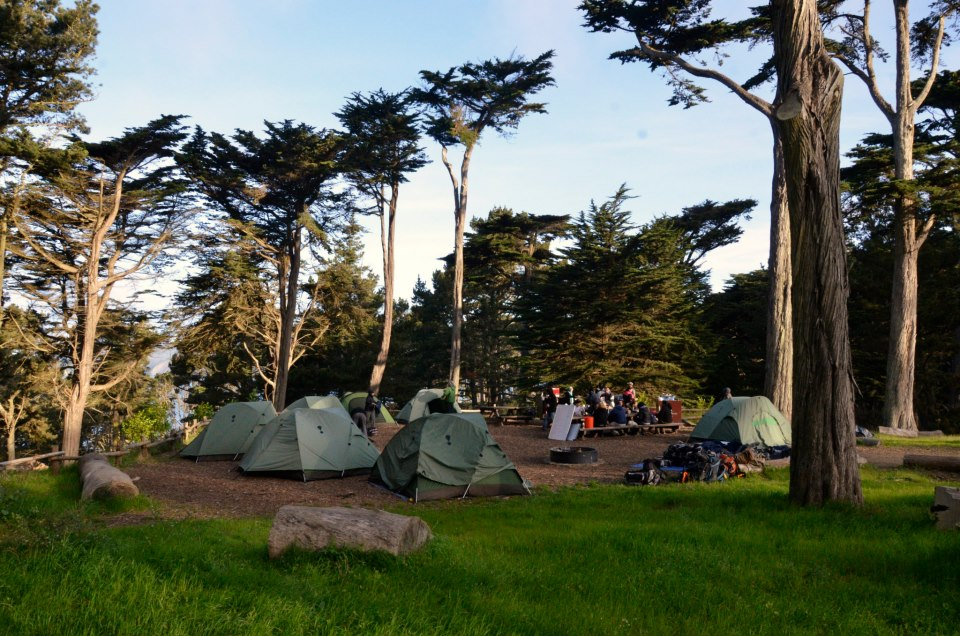 Rob Hill Presidio Campground