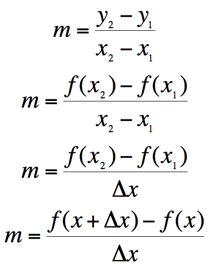 calculus formula and solution