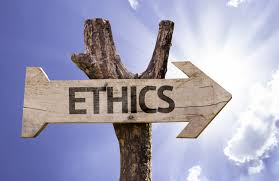 sign board of ethics