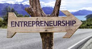 signboard for entrepreneurship
