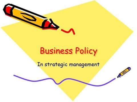 Picture of business policy