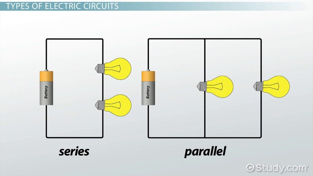 Image of electric parallel and series connection
