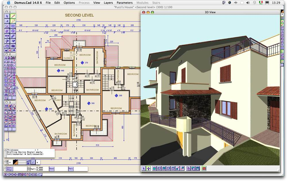 You might not be able to afford such a house but you can make it in software