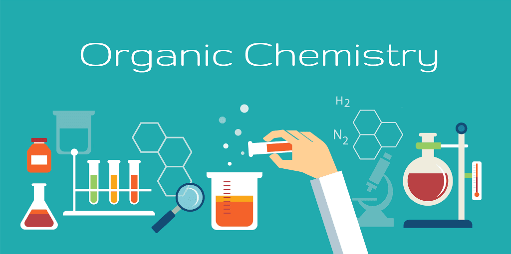 Image of an organic chemistry