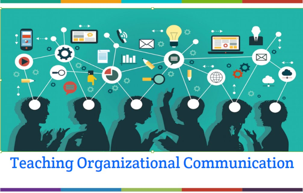 pictorial representation of Organizational Communication