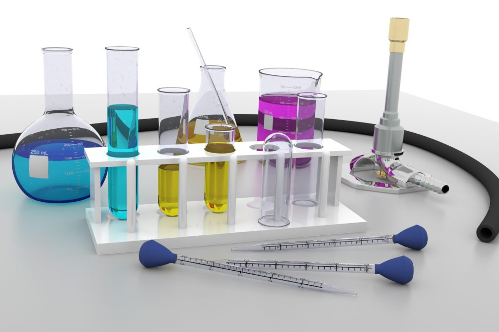 Picture of chemistry's laboratory apparatus